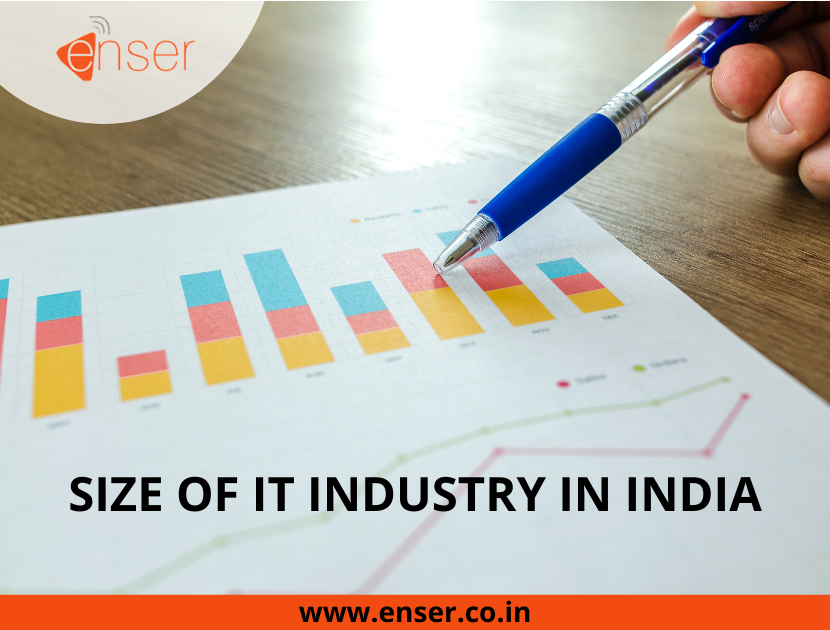 SIZE OF IT INDUSTRY IN INDIA